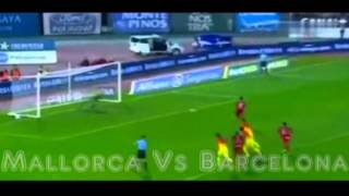 Mallorca vs Barcelona 2-4 All Goals Full Match Highlights 11/11/2012