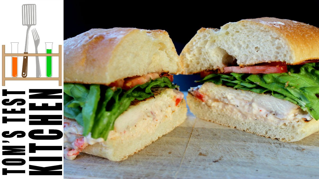 Italian Pimento Cheese And Grilled Chicken Sandwich