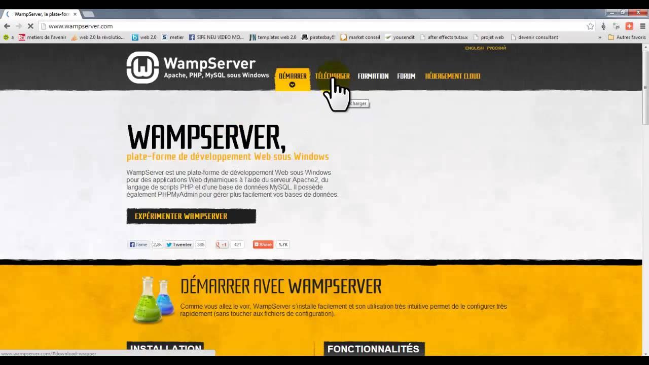 installer wamp server sur windows 7 64 bit