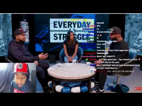 Dj Akademiks Reacts to news that Joe Budden is Leaving Everyday Struggle and Complex Media.