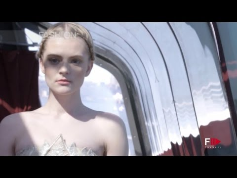 TONY WARD Couture J Spring Fashion Show 2015 by Fashion Channel