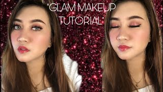 Glam Makeup Tutorial with Affordable Products✨| untuk pemula, easy tutorial
