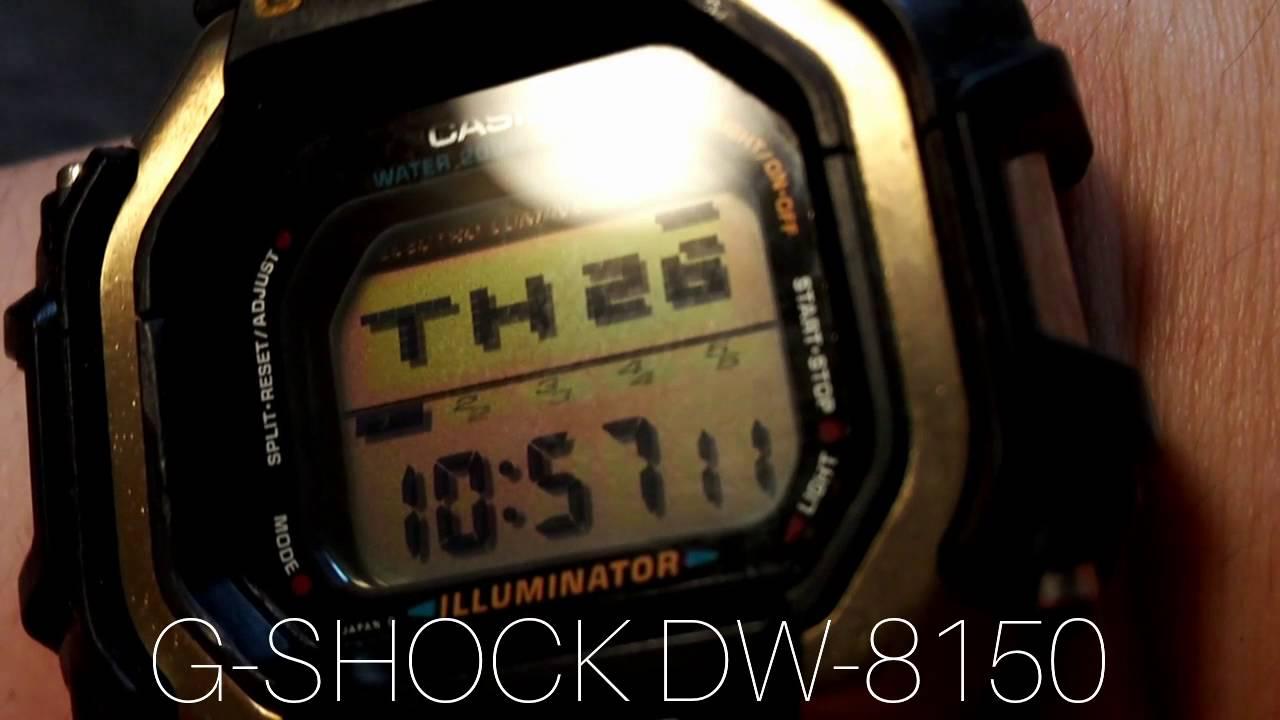 0db65cc5d6a G-SHOCK DW-8150 Slot Machine スロット - YouTube