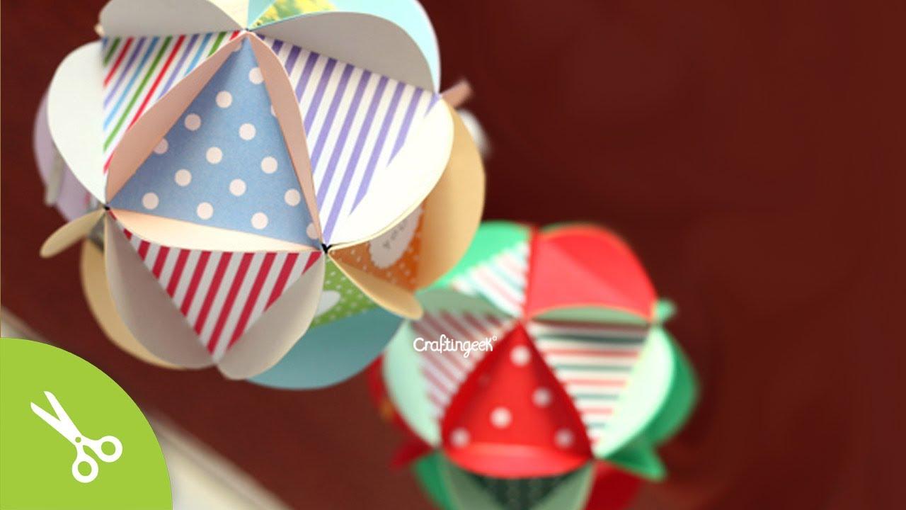 bola scrapbook carta detalle dulces original diferente y creativo san valentin youtube