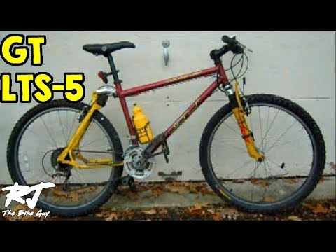 1997 gt lts 5 dual suspension mountain bike my new project bike
