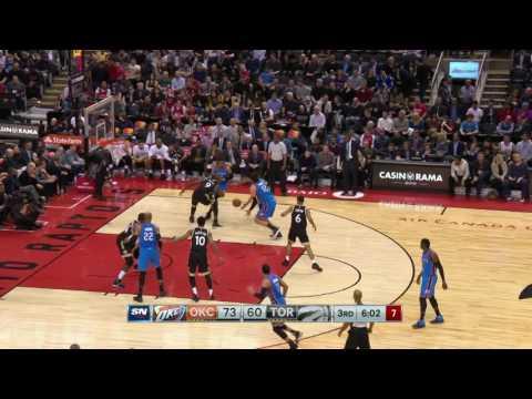 Oklahoma City Thunder at Toronto Raptors - March 16, 2017