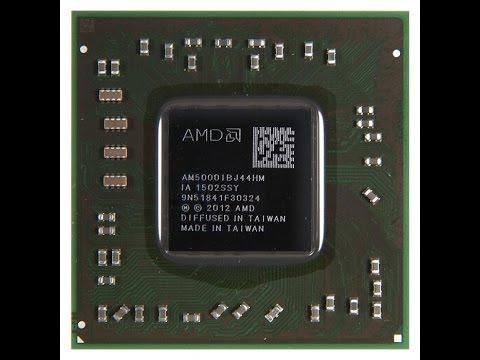 HP 15-e011sr замена ЦП APU AM5000IBJ44HM (A4-5000) (ноутбук на .