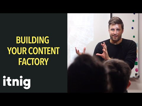 Building Your Content Factory - with Inbound Marketing