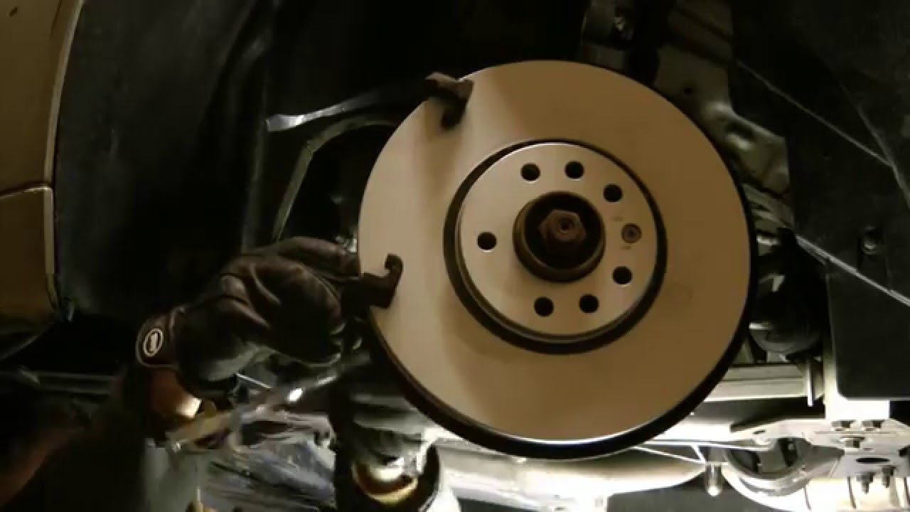 2005 saab 93 brake pad replacement