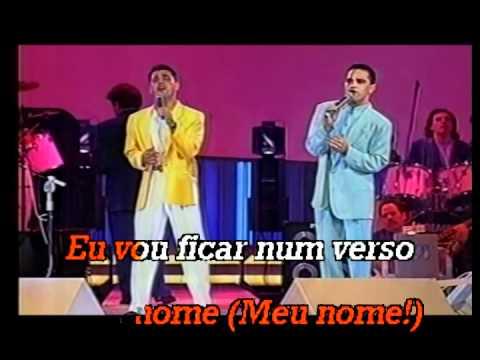Zezé di Camargo & Luciano - Você vai ver - Karaoke