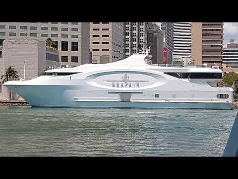 Miami two nice Yachts