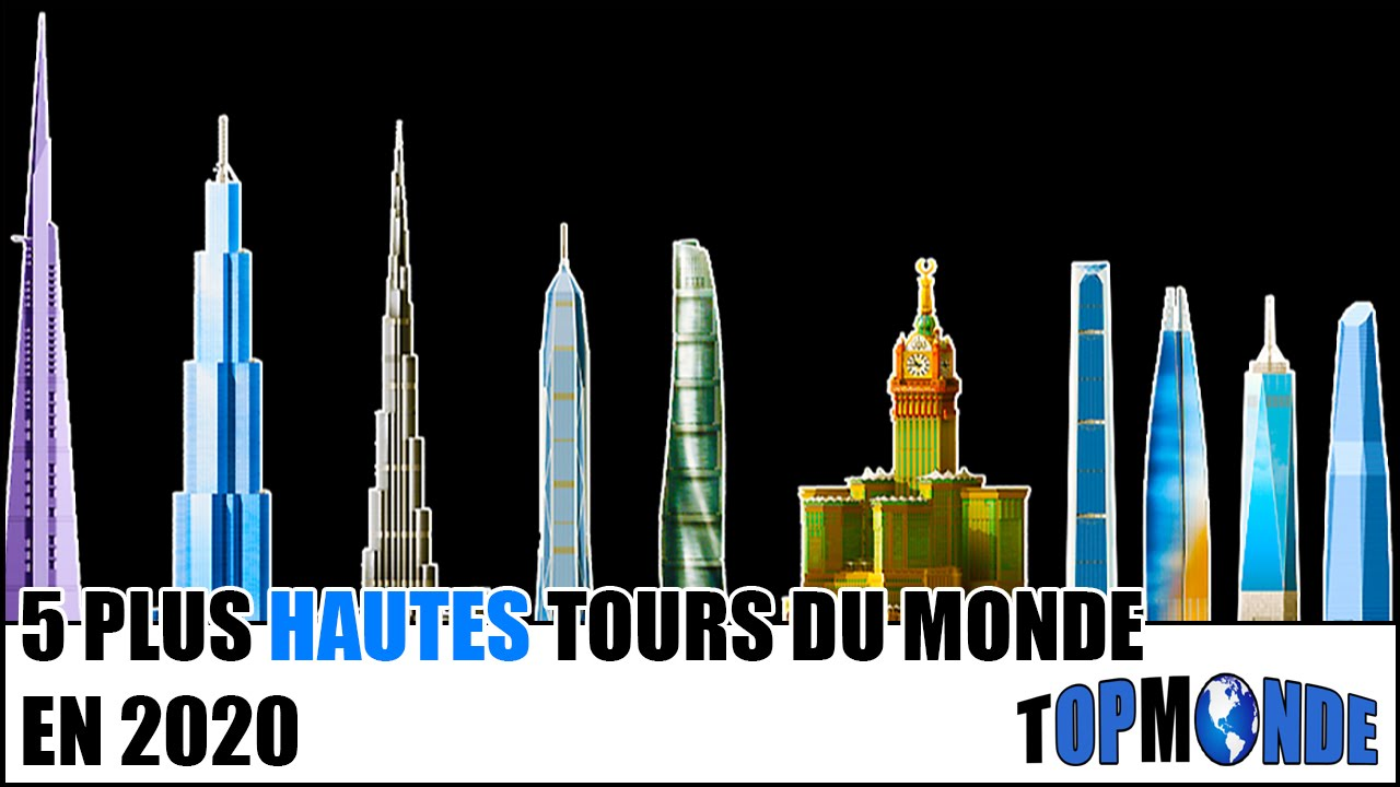 Top 5 Des Tours Les Plus Hautes Du Monde En 2020 Youtube