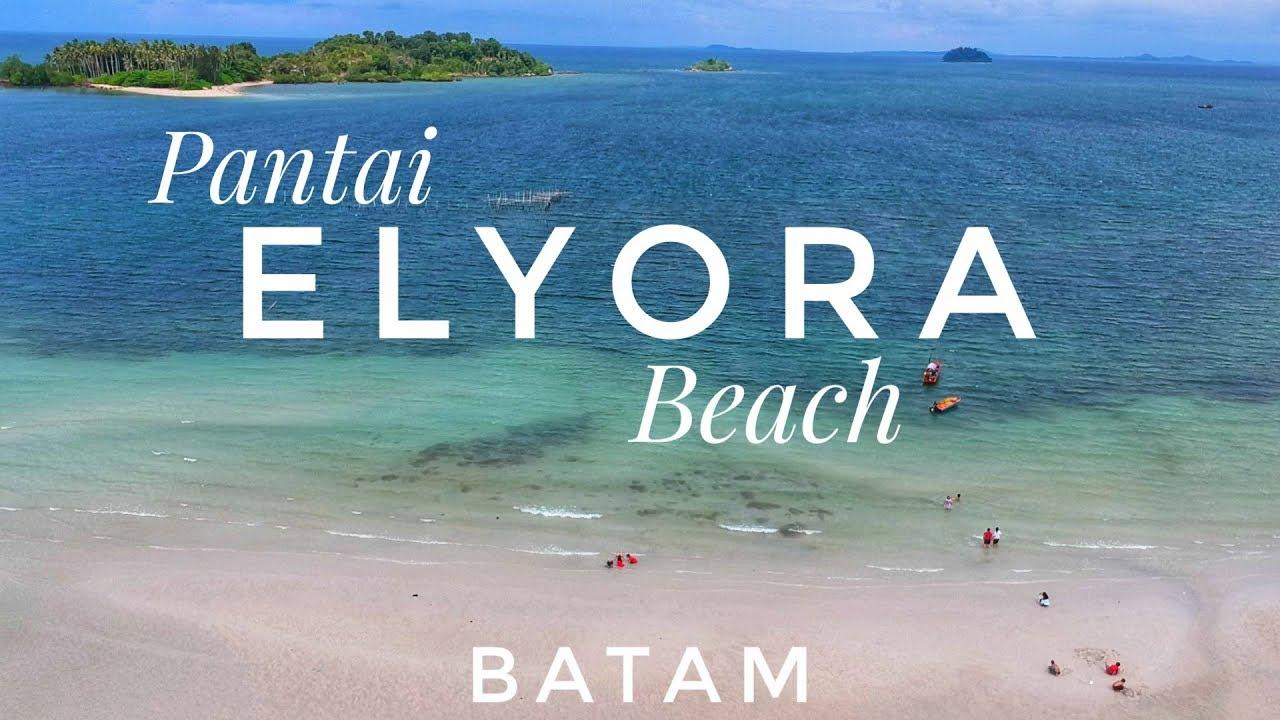 Wisata Pantai ELYORA Jembatan 10 Galang Baru Batam  ELYORA Beach Batam   Video Drone View Batam