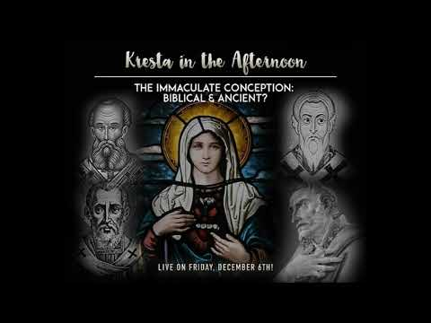 EWTN Kresta in the Afternoon: The Immaculate Conception appearance
