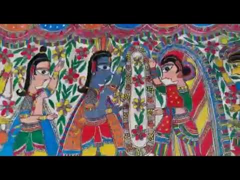 Prakash Kumar An Artist's Approach to Mithila Painting   From in Jhanjharpur Madhubani  Bihar