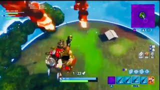 The best way to win in sky explosives ( Fortnite battle Royale