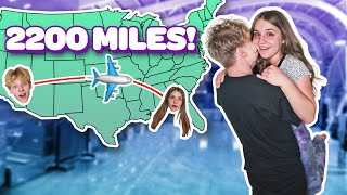 I TRAVELED 2,000 MILES TO SURPRISE MY GIRLFRIEND **Cute Reaction**✈️ ❤️| Piper Rockelle