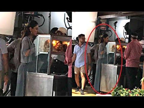 Kareena Kapoor Spotted At Sweet Shop In Delhi