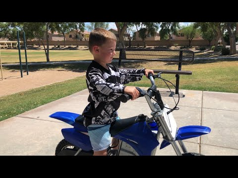 No, I'm just tired from all that RIDING I'm saying (Ryan Upchurch YZ 3year  old style)