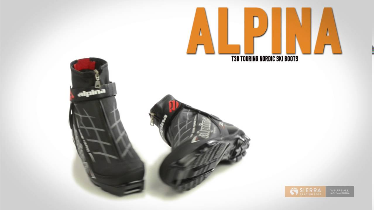 Alpina T Touring Nordic Ski Boots For Men YouTube - Alpina nordic