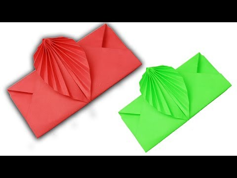 [NO GLUE Paper crafts] How To Make Envelope With Paper | DIY Origami Envelope Folding Step by Step