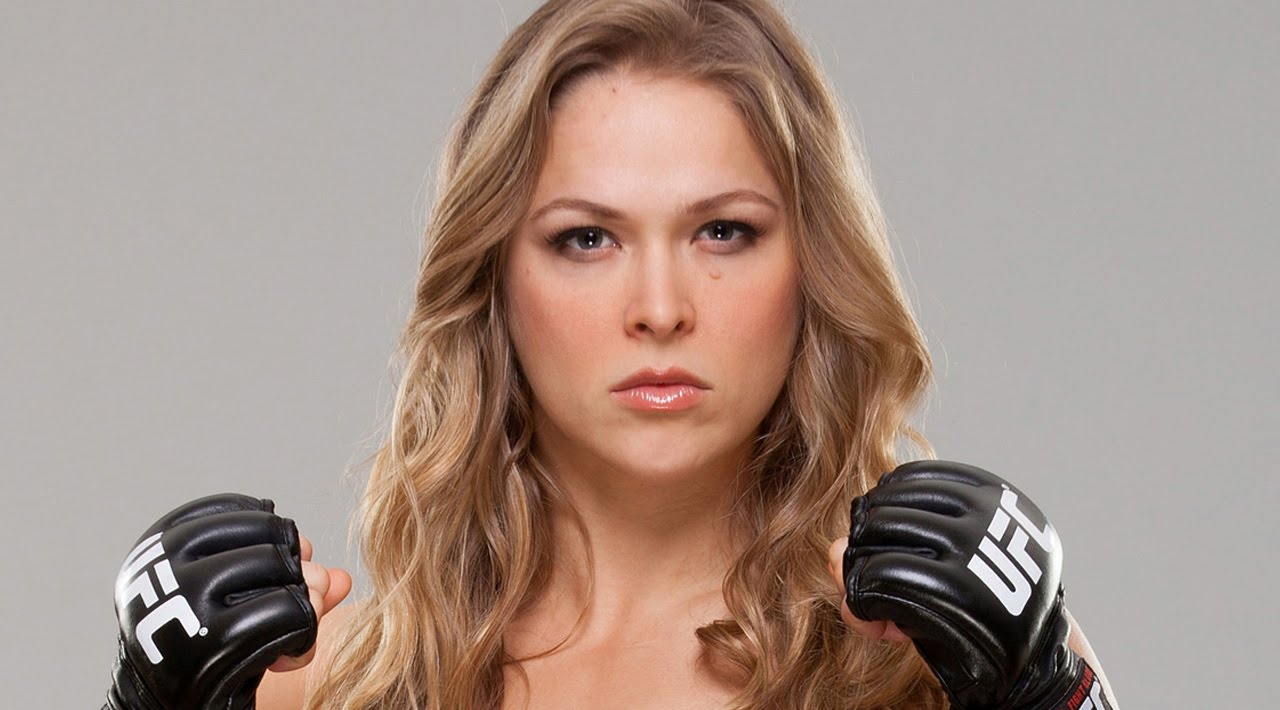 Ronda rousey self magazine photo shoot 5