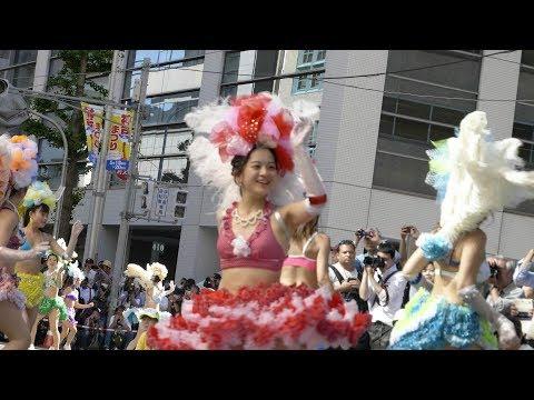 神戸まつり 2018 神戸サンバチーム part3[4K 60FPS]