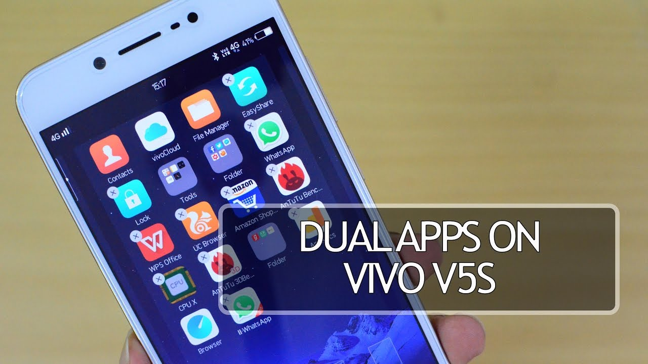 Dual Apps App Clone On Vivo V5s Fun Touch Os Youtube