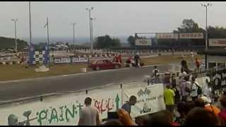 Super drift series Round 4 - Tandem drift BMW E30 M3 vs. Nissan Sylvia S14