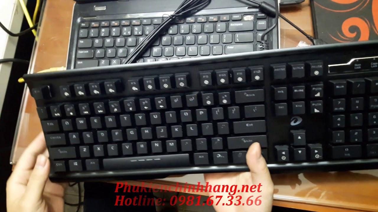 Review Bàn phím cơ DareU CK525, Ban phim co giá rẻ CK525 Giá sốc 650k