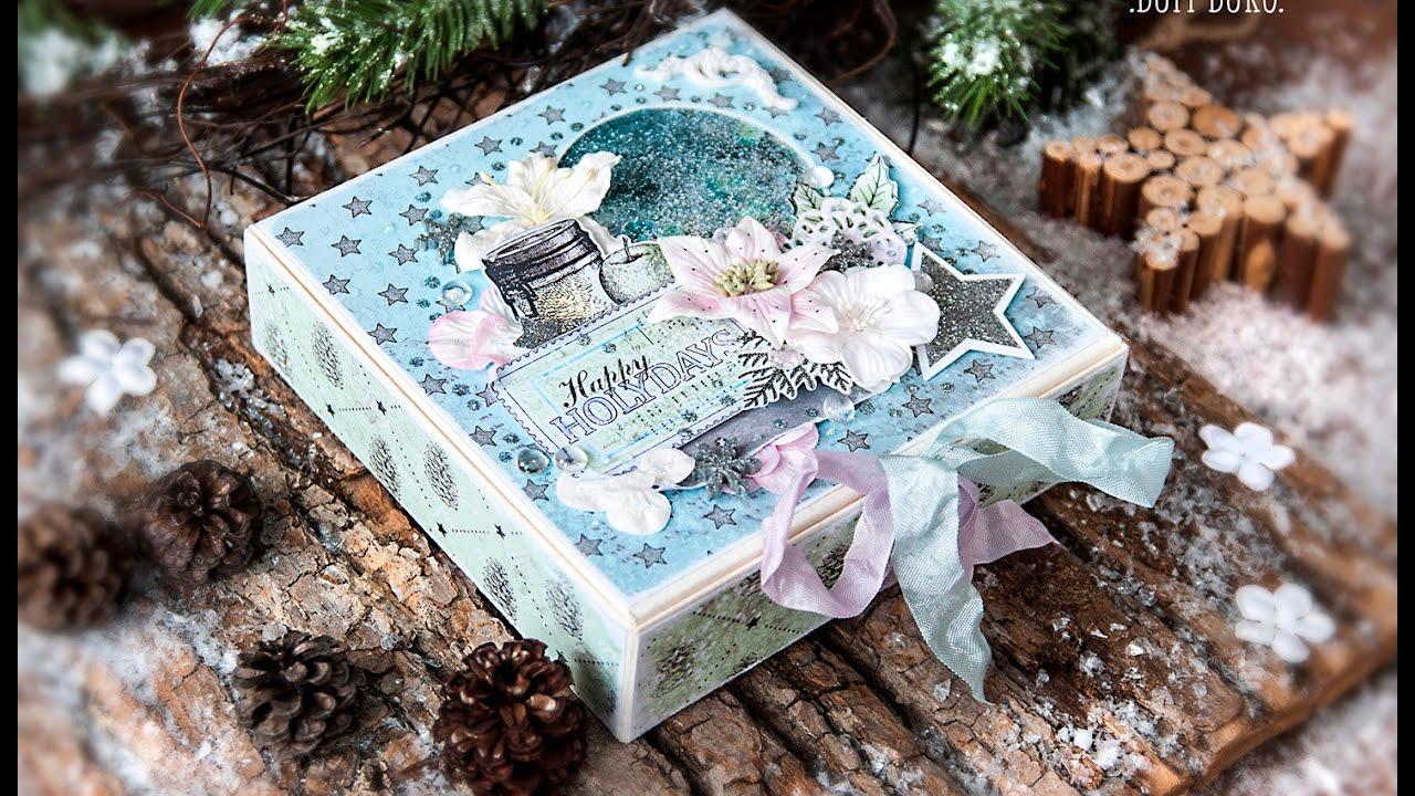 Картинки, открытка коробка с новым годом