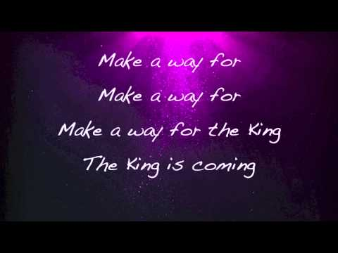 Newsboys - The King is Coming - (with lyrics)