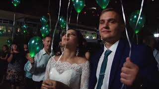 Запуск светящихся шаров Сумы светодиодные шары на свадьбу