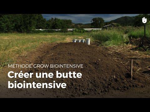 Créer une butte biointensive | Agriculture durable