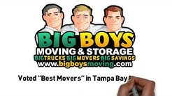 Moving Company Voted BEST TAMPA MOVERS in Tampa Bay Call (813) 936-3699 to MOVE