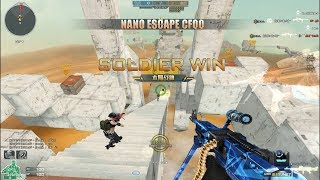 [CFQQ] NANO ESCAPE CROSSFIRE - PARKOUR | BUG ALL
