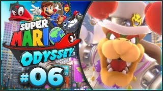 Super Mario Odyssey - Cloud Kingdom & Lost Kingdom 100% Walkthrough! [Part 6]