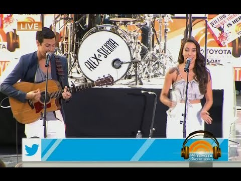 Alex & Sierra - Scarecrow (Live on Today Show)