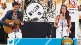 Alex & Sierra - Scarecrow (Live on Today Show)