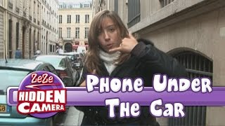 Phone Under The Car