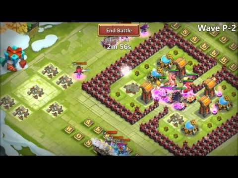 Castle Clash Level 142 Pixie Doing HBM P New Update Rank 1 IOS Player