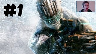 Dead Space 3 - Gameplay Walkthrough - Part 1 - SCARY FACECAM!! - Prologue/Chapter 1 (DS3 HD)
