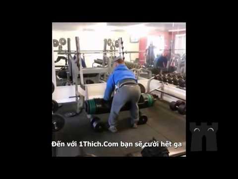 Những tình huống hài hước trong phòng tập Gym