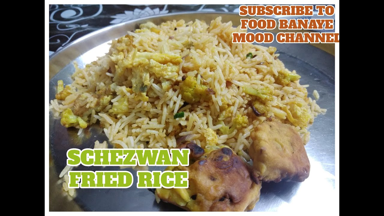 Schezwan Fried Rice   Quick and Easy   Home Made - YouTube