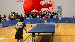 On my last day of the 2019 Japan Tour, I went to a tournament and took all challengers and also played against pro player, Kentaro Imanishi, who won the men's ...