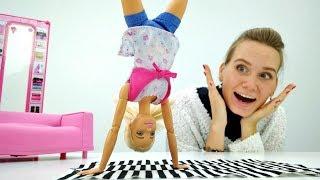 Видео для девочек   Барби решила заняться спортом