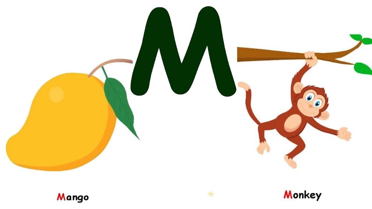 تعليم حرف M للاطفال