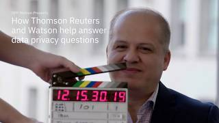 How Thomson Reuters and Watson help answer data privacy questions