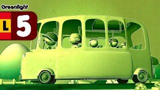 Al bajar de la guagua, seguridad vial para niños - Luz Verde