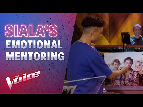 Semi Final: Siala's Emotional Mentoring Session With Boy George | The Voice Australia 2020